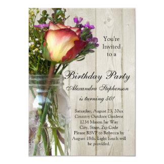 Geburtstags-Party des 11,4 X 15,9 Cm Einladungskarte