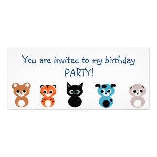 Geburtstags-Party Einladung
