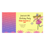 Geburtstags-Party Einladungen (Blumenfee) Foto Grußkarte