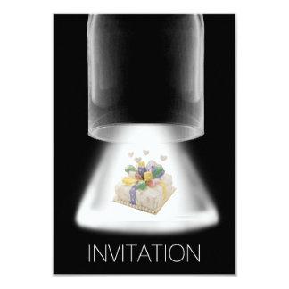 Geburtstags-Party-Kuchenmoderne Vip-Einladung 8,9 X 12,7 Cm Einladungskarte