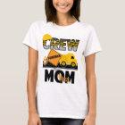 Geburtstags-Shirt-Kipper des Bau-Mamma-Shirt-| T-Shirt