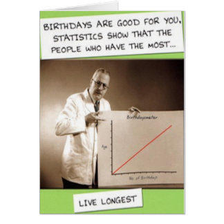 GEBURTSTAGS-STATISTIKEN KARTE