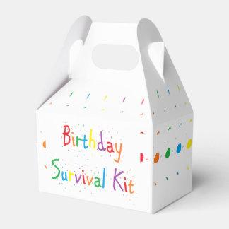 """""""Geburtstags-"""" Überlebensausrüstung Geschenkschachtel"""