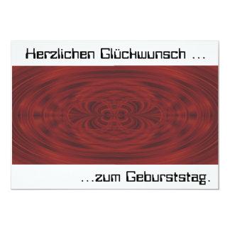 Geburtstagskarte 12,7 X 17,8 Cm Einladungskarte