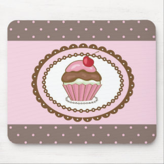 Geburtstagskarte mit kleinem Kuchen Mousepads