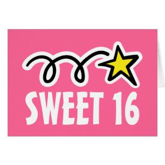 Geburtstagskarten 16. Geburtstag (16) Karte