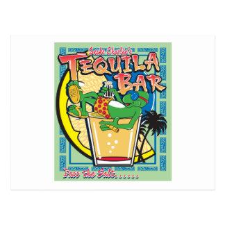 Gecko Charlies Margarita Bar Postkarte