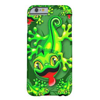 Gecko-Eidechsen-Baby-Cartoon Barely There iPhone 6 Hülle