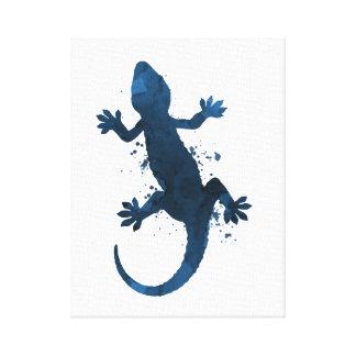 Gecko Leinwanddruck