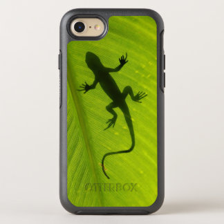 Gecko-Silhouette OtterBox Symmetry iPhone 8/7 Hülle