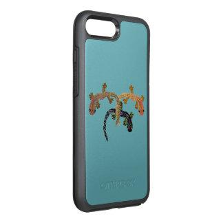 Gecko-Tanz OtterBox Symmetry iPhone 8 Plus/7 Plus Hülle