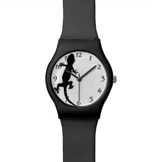 Gecko Uhr