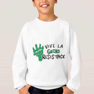 Gecko-Widerstand Sweatshirt