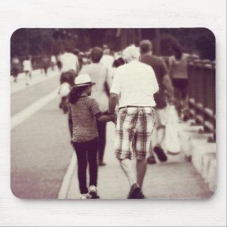 Gedächtnis mit Großvater Mauspads