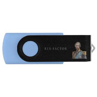 Gedächtnis-Stock, Blau, George V USB Stick