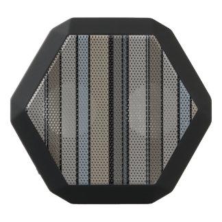 Gedämpfte moderne Streifen Schwarze Bluetooth Lautsprecher