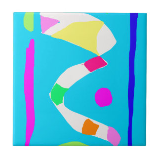 Gedanken-Fluss-Brücken-Mais-Süßigkeits-Tasche Keramikkachel