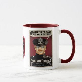 Gedanken-Polizei-Tasse Tasse
