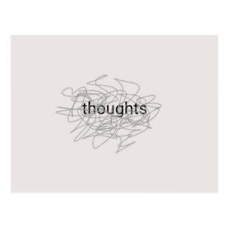 Gedanken Postkarte