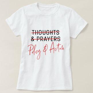 Gedanken u. Gebets-März für unseren Leben-Gewehr-T T-Shirt