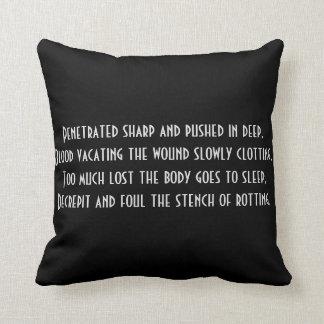 Gedichtkissen Kissen
