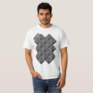 Gedränge geometrisch T-Shirt