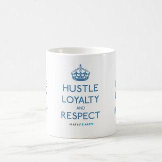 Gedränge-Loyalitäts-Respekt 11-Unze-klassische Kaffeetasse