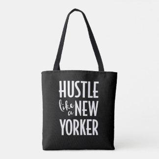 Gedränge wie eine New- YorkerTaschentasche Tasche
