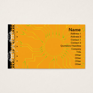 Gedrehte Alternative der Quallen-WGB Gitter Visitenkarte