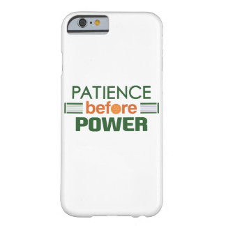 """""""Geduld vor Power"""" Pickleball Fall Barely There iPhone 6 Hülle"""