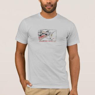 Geduscht im viel Glück T-Shirt