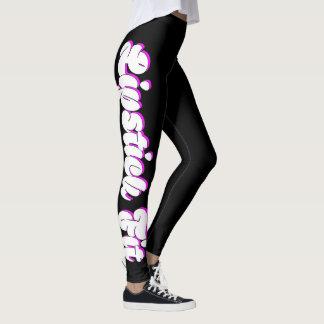 Geeigneter weiblicher Fitnessentwurf des Leggings