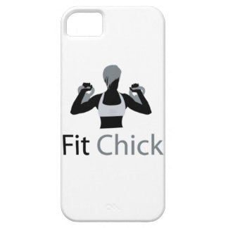 Geeignetes Küken mit Kettlebells Etui Fürs iPhone 5