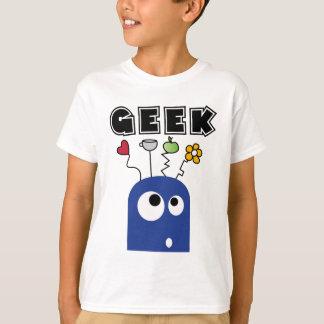 geek blau T-Shirt