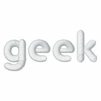 Geek - gesticktes Shirt