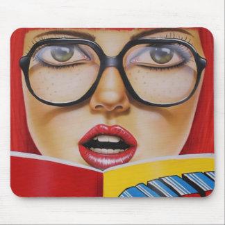 Geek Girl Mousepad