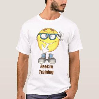 Geek im Trainings-T - Shirt