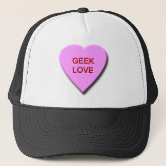 Geek-Liebe Truckerkappe