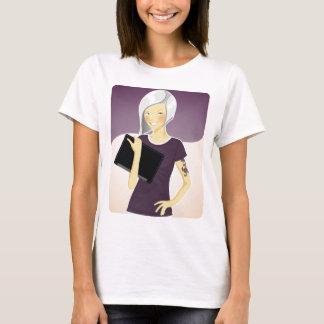 Geek-Maskottchen-T - Shirt (irgendeine Art)