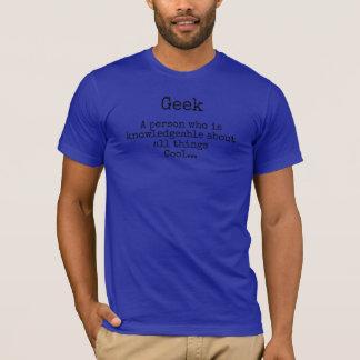 Geek-oder Nerd-Kühle-T - Shirt