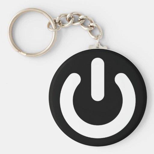Geek-Power-Ideologie Schlüsselanhänger