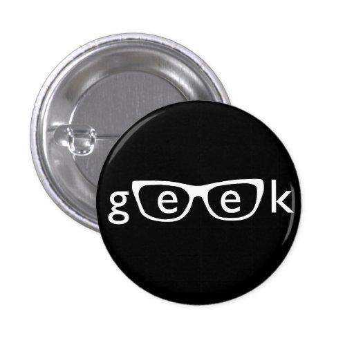 Geek Runder Button 2,5 Cm