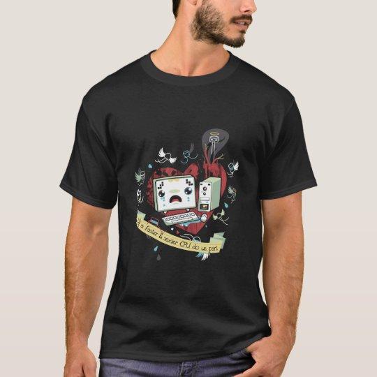 Geeks in der Liebe T-Shirt