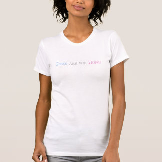 Geeks sind für Deppe (Damen-Unterhemd) T-Shirt