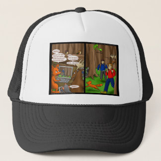 Geeks sind wilde Tier-lustige T-Shirts-Karten u. Truckerkappe