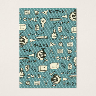 Geeky auf Blau Visitenkarte