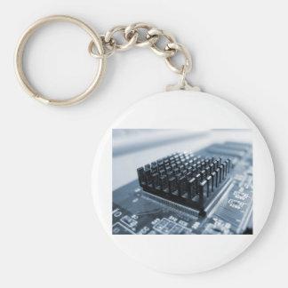Geeky Computer-Chip - GeekShirts Schlüsselanhänger