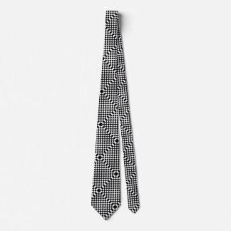 Geeky Geschenk-geometrisches optische Illusion Bedruckte Krawatte