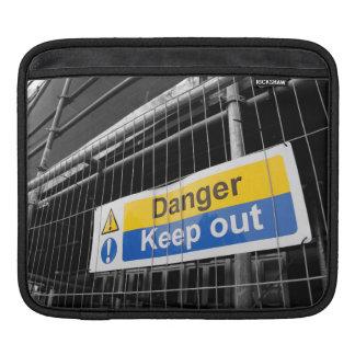 Gefahr behalten heraus Zeichen iPad Hülse Sleeve Für iPads