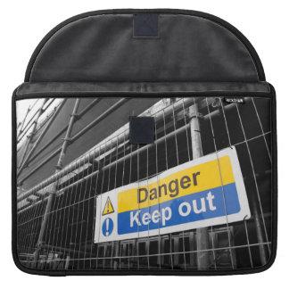 Gefahr behalten heraus Zeichen Macbook Prohülse MacBook Pro Sleeve